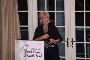 Susan Wornick prepares for the live auction